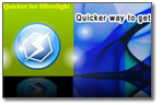 Quicker for Silverlight Sample
