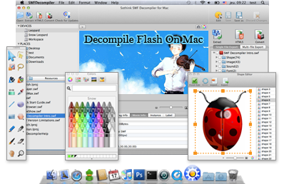 best Flash SWF Decompiler
