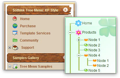 Tree Menu - Tree Menu Builder, Javascript Menu Builder
